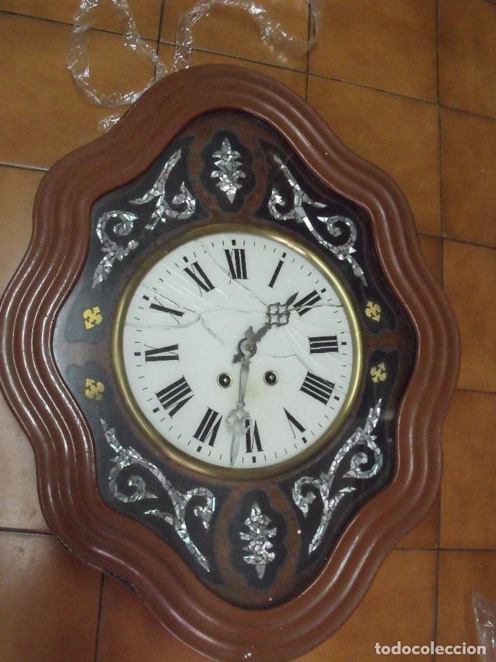 Relojes de pared: ¡¡gran oferta !!!!antiguo ojo buey PARIS PARA RESTAURAR O PIEZAS- LOTE 72 - Foto 2 - 104983859