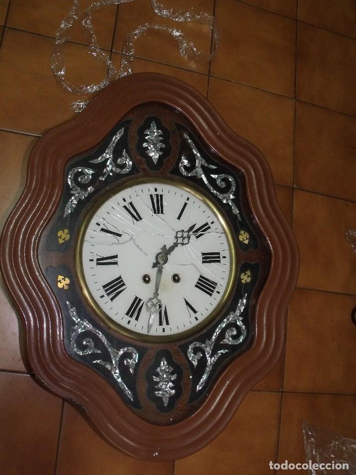 Relojes de pared: ¡¡gran oferta !!!!antiguo ojo buey PARIS PARA RESTAURAR O PIEZAS- LOTE 72 - Foto 3 - 104983859