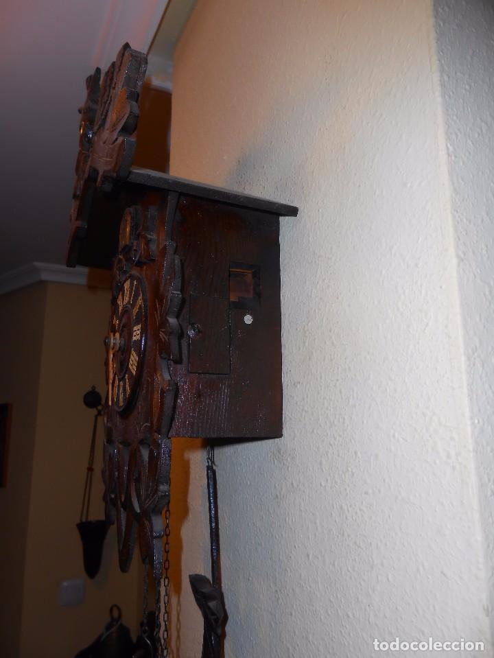 Relojes de pared: ANTIGUO RELOJ CUCU FINALES SIGLO XIX PRINCIPIOS SIGLO XX APROXIMADAMENTE - Foto 8 - 105381627