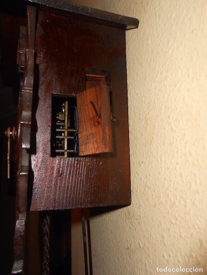 Relojes de pared: ANTIGUO RELOJ CUCU FINALES SIGLO XIX PRINCIPIOS SIGLO XX APROXIMADAMENTE - Foto 9 - 105381627