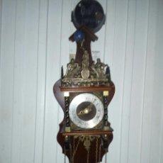 Relojes de pared: ANTIGUO RELOJ DE PARED HOLANDÉS. Lote 105920463