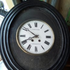 Relojes de pared: ANTIGUO RELOJ DE PARED OJO DE BUEY NAPOLEÓN LLL. Lote 105925563