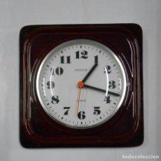 Relojes de pared: RELOJ DE PARED KIENZLE QUARTZ ALEMÁN VINTAGE AÑOS 70. PB33. Lote 172403959