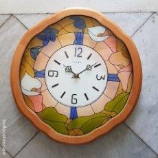 Relojes de pared: RELOJ PARED KAISER. Lote 107719251