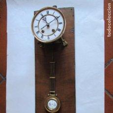 Relojes de pared: RELOJ DE PARED ESQUELETO . Lote 109873787
