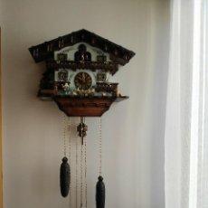 Relojes de pared: RELOJ CUCO EN FUNCIONAMIENTO. Lote 110200199