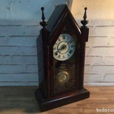 Relojes de pared: ANTIGUO RELOJ DE CAPILLA VICTORIANO DE FINALES DE S.XIX FUNCIONANDO. Lote 110430046