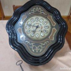 Relojes de pared: RELOJ MORETZ EPOCA ISABELINA. Lote 111483547