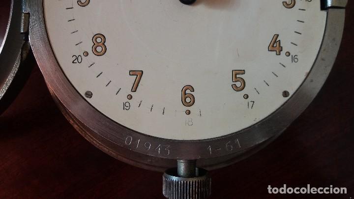 Relojes de pared: ANTIGUO RELOJ DE SUBMARINO, BARCO FABRICADO EN LA ANTIGUA URSS, RUSO, SOVIÉTICO. - Foto 3 - 111690383