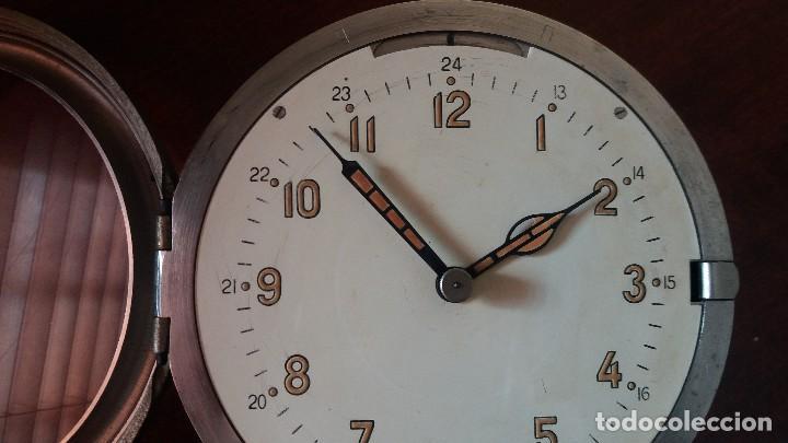 Relojes de pared: ANTIGUO RELOJ DE SUBMARINO, BARCO FABRICADO EN LA ANTIGUA URSS, RUSO, SOVIÉTICO. - Foto 4 - 111690383