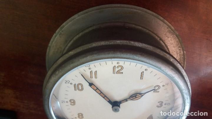Relojes de pared: ANTIGUO RELOJ DE SUBMARINO, BARCO FABRICADO EN LA ANTIGUA URSS, RUSO, SOVIÉTICO. - Foto 5 - 111690383