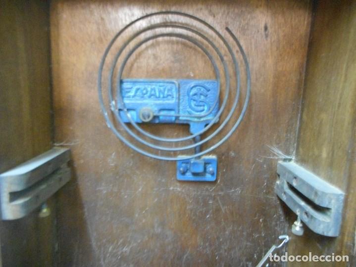 Relojes de pared: curioso reloj regulador bagues funcionando - Foto 8 - 112256039