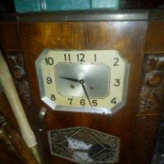 Relojes de pared: ANTIGUO RELOJ DE PARED FRANCÉS. Lote 112516339