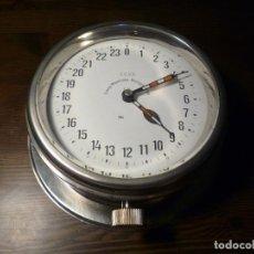 Relojes de pared: RELOJ DE 24 HORAS DE BARCO, SUBMARINO SOVIÉTICO, RUSO, URSS 1955. Lote 113081007