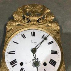 Relojes de pared: PRECIOSO RELOJ MOREZ CON PENDULO DE LENTEJA. Lote 113629935