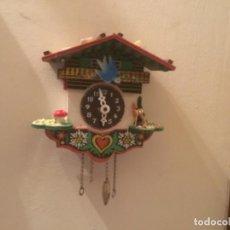 Relojes de pared: PEQUEÑO RELOJ DE CUCO PARA RESTAURAR. Lote 113658523