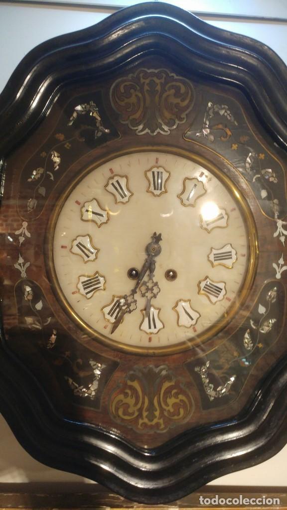 Relojes de pared: RELOJ DE PARED SIGLO XIX - Foto 2 - 113907867
