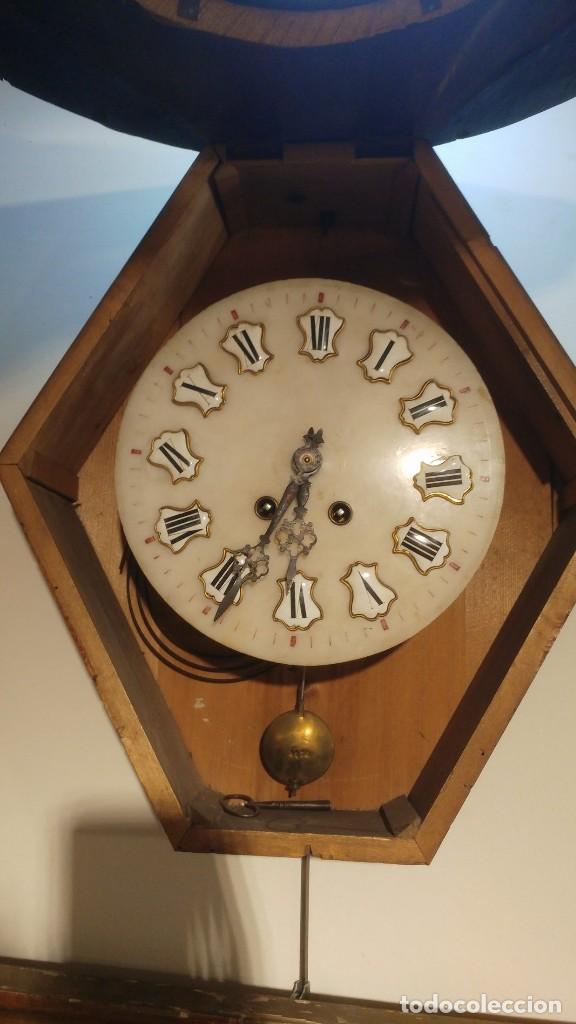 Relojes de pared: RELOJ DE PARED SIGLO XIX - Foto 5 - 113907867
