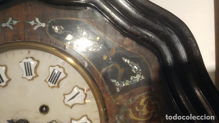 Relojes de pared: RELOJ DE PARED SIGLO XIX - Foto 9 - 113907867