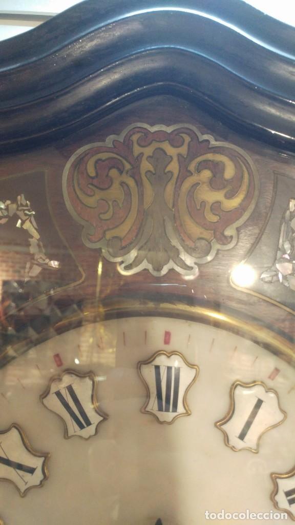 Relojes de pared: RELOJ DE PARED SIGLO XIX - Foto 10 - 113907867