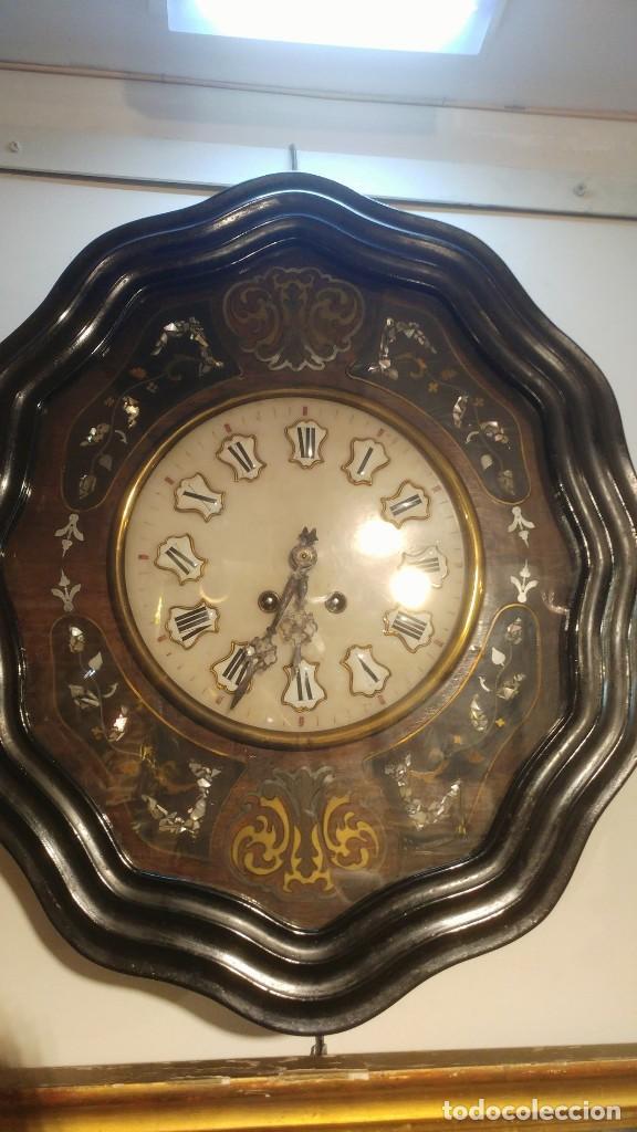 Relojes de pared: RELOJ DE PARED SIGLO XIX - Foto 12 - 113907867