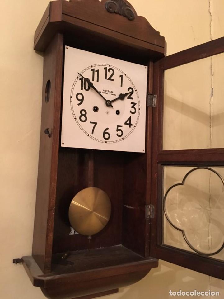 Relojes de pared: RELOJ DE PARED. ASTRAIN. SAN SEBASTIÁN, PAMPLONA. - Foto 2 - 113917375