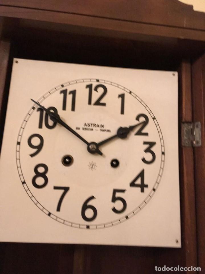 Relojes de pared: RELOJ DE PARED. ASTRAIN. SAN SEBASTIÁN, PAMPLONA. - Foto 4 - 113917375