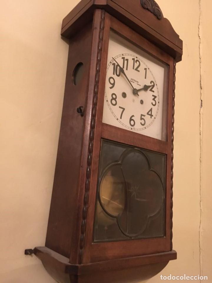 Relojes de pared: RELOJ DE PARED. ASTRAIN. SAN SEBASTIÁN, PAMPLONA. - Foto 5 - 113917375
