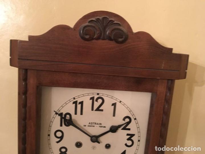 Relojes de pared: RELOJ DE PARED. ASTRAIN. SAN SEBASTIÁN, PAMPLONA. - Foto 6 - 113917375