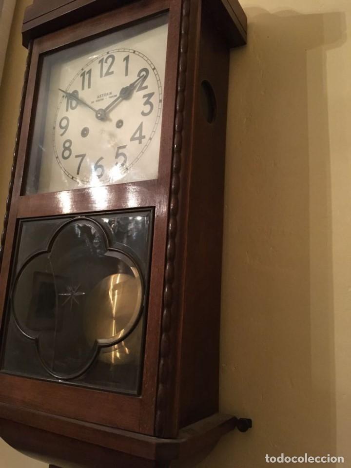 Relojes de pared: RELOJ DE PARED. ASTRAIN. SAN SEBASTIÁN, PAMPLONA. - Foto 10 - 113917375