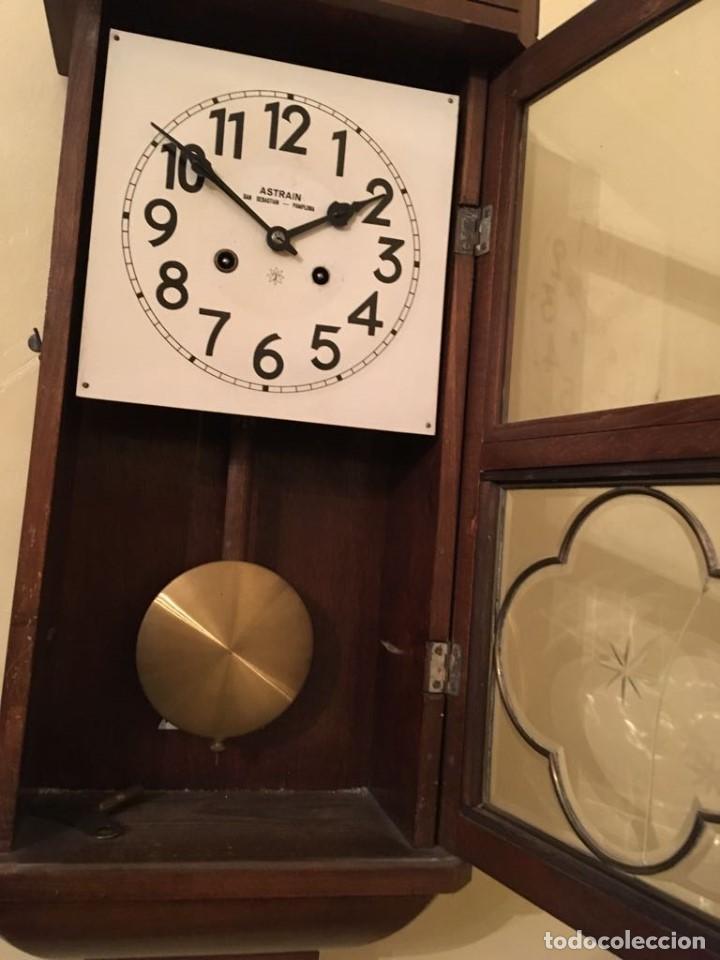 Relojes de pared: RELOJ DE PARED. ASTRAIN. SAN SEBASTIÁN, PAMPLONA. - Foto 11 - 113917375