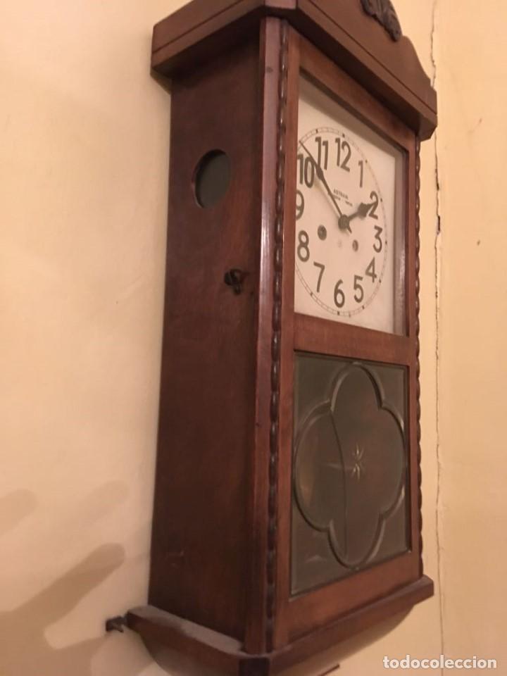 Relojes de pared: RELOJ DE PARED. ASTRAIN. SAN SEBASTIÁN, PAMPLONA. - Foto 12 - 113917375