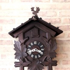 Relojes de pared: ANTIGUO RELOJ CUCO. PUESTO A PUNTO Y OK.. Lote 116599950
