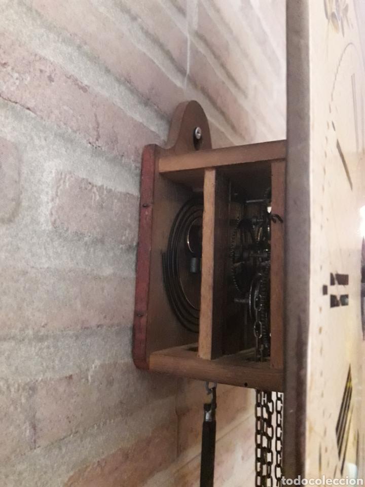 Relojes de pared: RELOJ RATERA. SELVA NEGRA.1850. VER FOTOS. MOVIMIENTO EN MADERA. SONERIA. LEEME - Foto 3 - 114413814