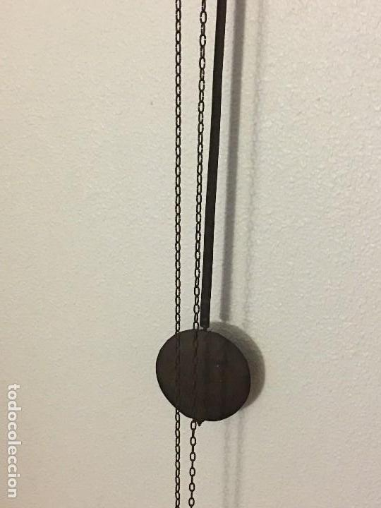 Relojes de pared: ANTIGUO RELOJ DE PARED, FUNCIONA - Foto 5 - 114767179