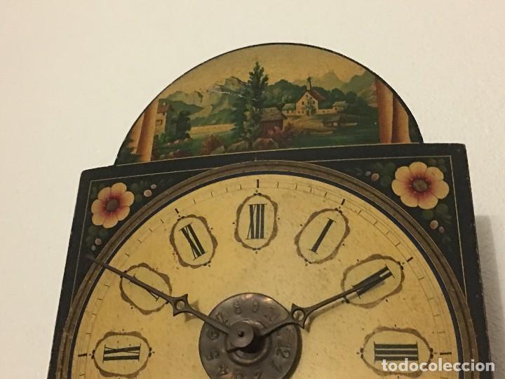 Relojes de pared: ANTIGUO RELOJ DE PARED, FUNCIONA - Foto 6 - 114767179