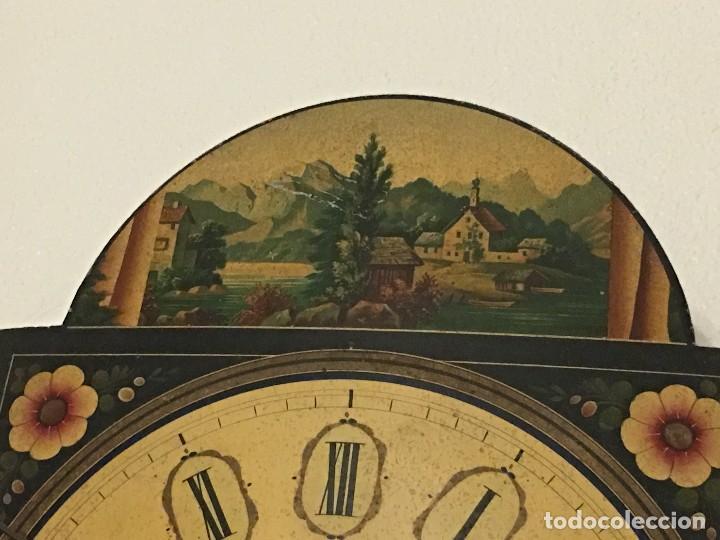 Relojes de pared: ANTIGUO RELOJ DE PARED, FUNCIONA - Foto 7 - 114767179