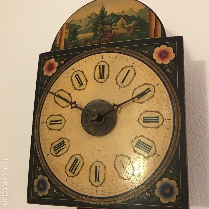 Relojes de pared: ANTIGUO RELOJ DE PARED, FUNCIONA - Foto 9 - 114767179