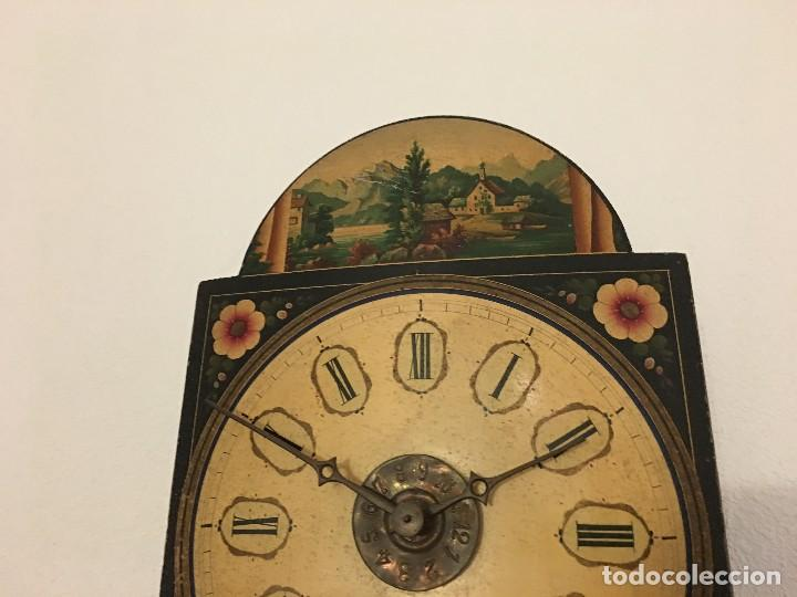 Relojes de pared: ANTIGUO RELOJ DE PARED, FUNCIONA - Foto 10 - 114767179