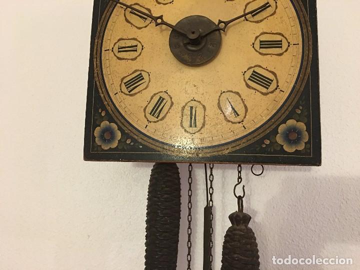 Relojes de pared: ANTIGUO RELOJ DE PARED, FUNCIONA - Foto 11 - 114767179