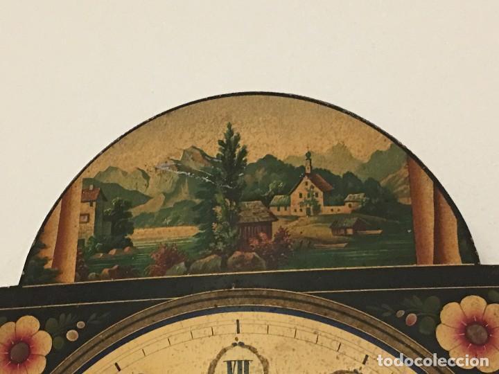 Relojes de pared: ANTIGUO RELOJ DE PARED, FUNCIONA - Foto 14 - 114767179