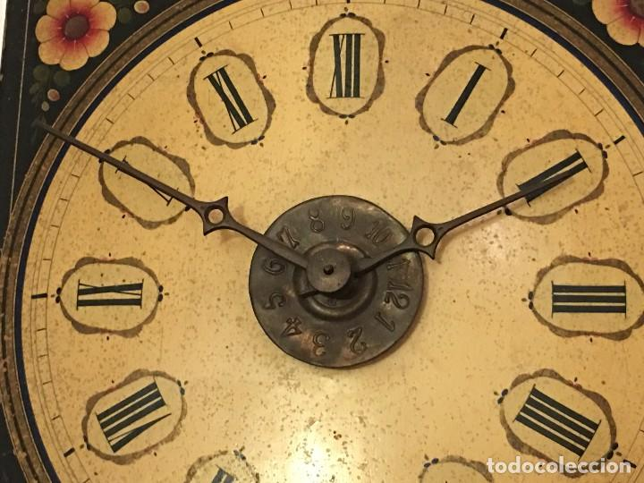 Relojes de pared: ANTIGUO RELOJ DE PARED, FUNCIONA - Foto 15 - 114767179