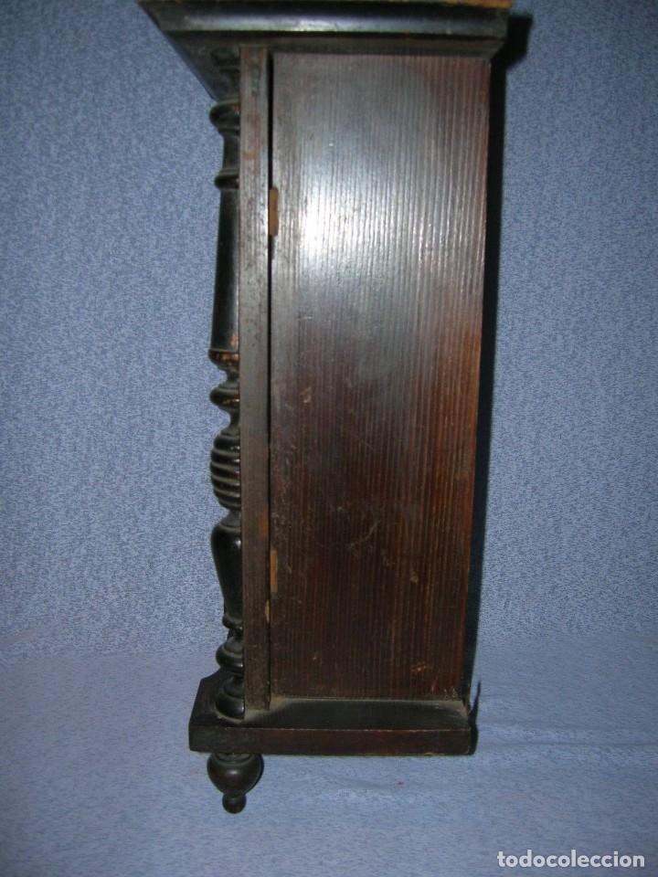 Relojes de pared: ¡¡gran oferta!! ANTIGUO RELOJ ALFONSINO JUNGHANS de Alemania- año 1910- funcional - Foto 3 - 114977591