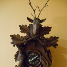 Relojes de pared: PRECIOSO RELOJ DE CUCO -PERFECTO FUNCIONAMIENTO DE MAQUINARIA -AÑOS 60- . Lote 115251239
