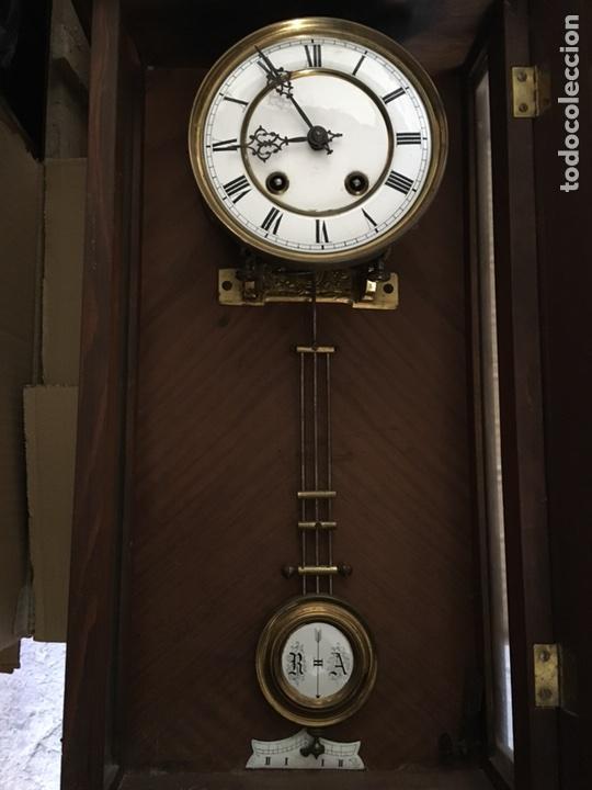 Relojes de pared: Reloj de Pared.- finales del Siglo XIX, comienzos del XX - Foto 5 - 79305077