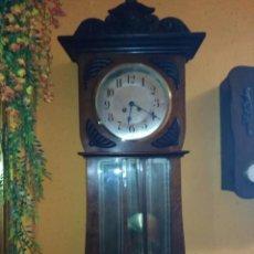 Relojes de pared: RELOJ DE PARED MODERNISTA. Lote 116279555