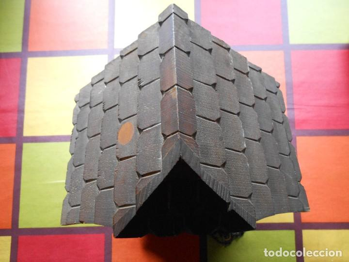 Relojes de pared: RELOJ CUCU-CUCO CON CARRUSEL MUSICAL ALEMÁN(SELVA NEGRA).TOTALMENTE MECÁNICO Y FUNCIONANDO BIEN.. - Foto 12 - 116293139