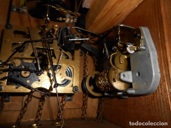 Relojes de pared: RELOJ CUCU-CUCO CON CARRUSEL MUSICAL ALEMÁN(SELVA NEGRA).TOTALMENTE MECÁNICO Y FUNCIONANDO BIEN.. - Foto 18 - 116293139