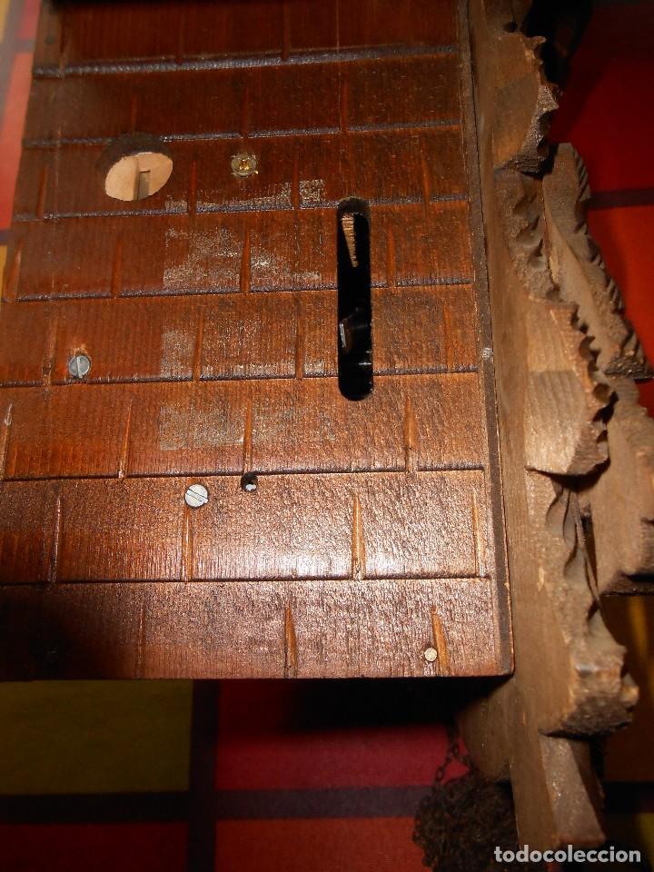 Relojes de pared: RELOJ CUCU-CUCO CON CARRUSEL MUSICAL ALEMÁN(SELVA NEGRA).TOTALMENTE MECÁNICO Y FUNCIONANDO BIEN.. - Foto 21 - 116293139