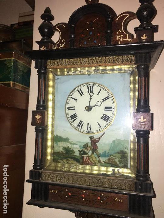 Relojes de pared: BONITO RELOJ PARED SELVA NEGRA ORIGINAL FUNCIONA - Foto 2 - 118413643